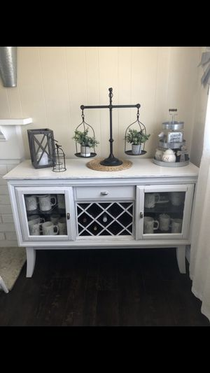 Farmhouse server/buffet table for Sale in Fullerton, CA