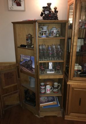 Two corner cabinets for Sale in Moorestown, NJ