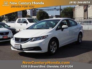 2015 Honda Civic Sedan for Sale in Glendale, CA