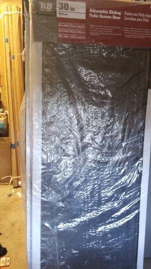 """30"""" RB screen door for Sale in San Antonio, TX"""