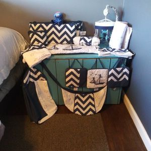 Nautical Ocean Themed Bedding Full Set for Sale in Greenville, SC