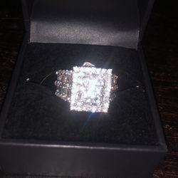 Bridal 14k Wht Gold Wedding Ring for Sale in Hollywood,  FL