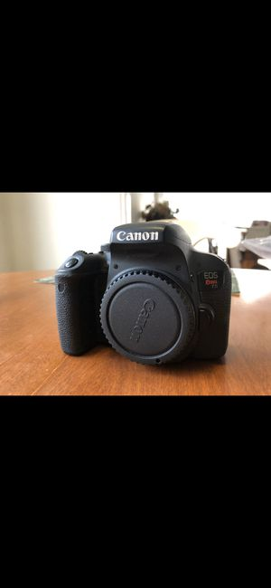 Canon Rebel T7i for Sale in Mahwah, NJ