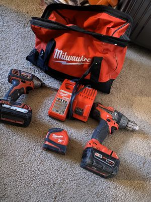 Milwaukee drills $150 for Sale in Denver, CO