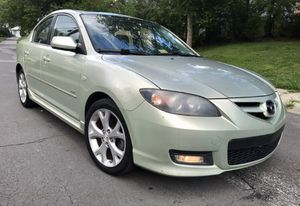 0NLY!!! $2999 2008 Mazda 3 S Touring!! light green color !! GReat first car for Sale in Aspen Hill, MD