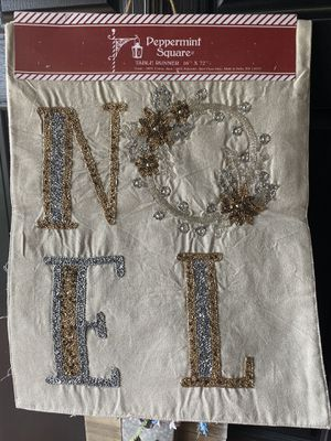 Noel table runner new for Sale in Warrenton, VA