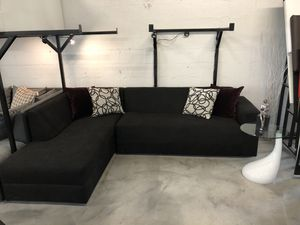 Black 2PC Sectional Sofa 💥 for Sale in Miami, FL