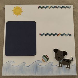 Scrapbook for dogs - beach day! for Sale in Hayward, CA