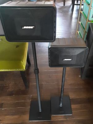 Bose Model 101 Music Monitors with stands for Sale in Pflugerville, TX