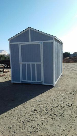 STORAGE SHED UNIT PROFESIONAL. WORK ALL REAL WOOD for Sale in Moreno Valley, CA