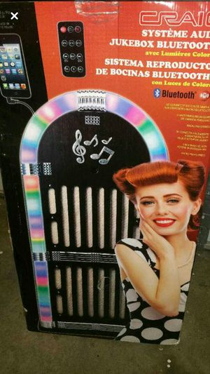 Brand new jukebox with bluetooth speaker system for Sale in El Cajon, CA