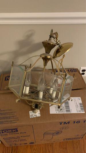 Classy light fixture for Sale in Medford, NJ