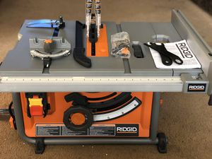"""RIDGID 10"""" COMPACT TABLE SAW for Sale in La Verne, CA"""