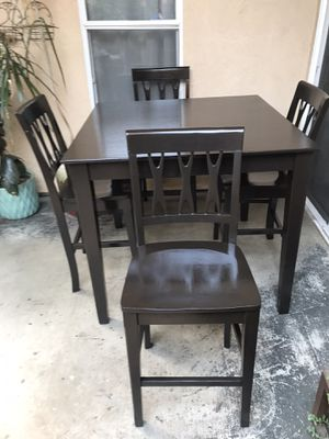Tall dining table set for Sale in Visalia, CA