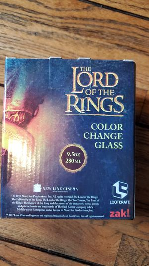Lord of the Rings Color Change Glass for Sale in Los Angeles, CA