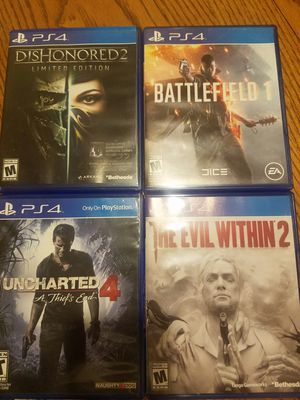 PS4 games for Sale in Cashmere, WA