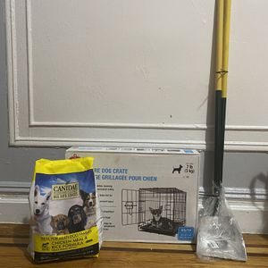 Extra Dog Supplies And Food And Ultrasonic Dog Training Device for Sale in The Bronx, NY