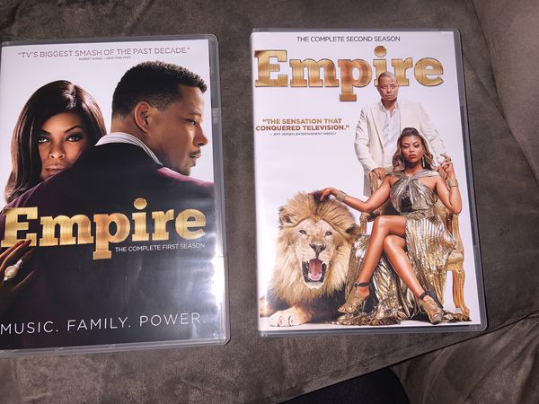 Empire season 1 and 2 DVDs