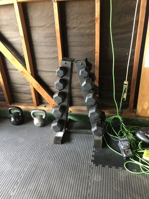 Dumbbell set for Sale in San Diego, CA