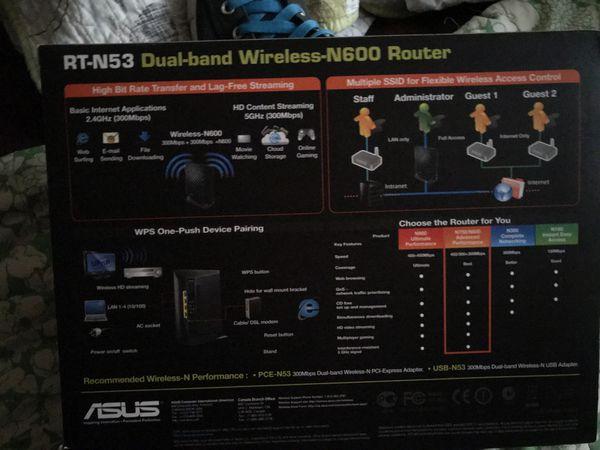 Asus Router RT-N53 Wireless-N600