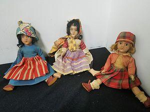 Antique dolls for Sale in Davie, FL