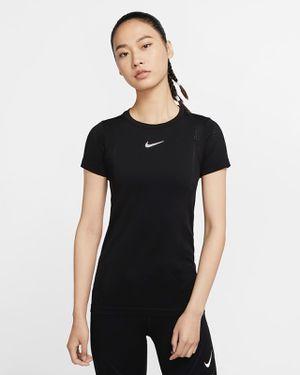 Nike Women's Short-Sleeve Mesh Running Top for Sale in Delray Beach, FL