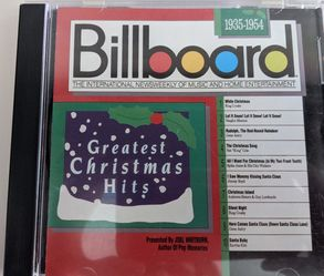 Billboard's Greatest Christmas Hits:1935-1954 for Sale in Berlin,  CT