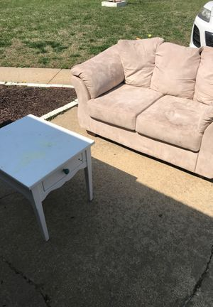 Couch and table for Sale in Virginia Beach, VA