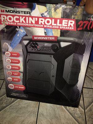 Monster Rockin' Roller 270 Bluetooth Speaker for Sale in Los Angeles, CA