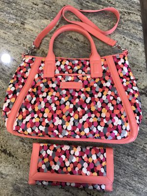 Vera Bradley Purse With Matching Wallet for Sale in Venice, FL