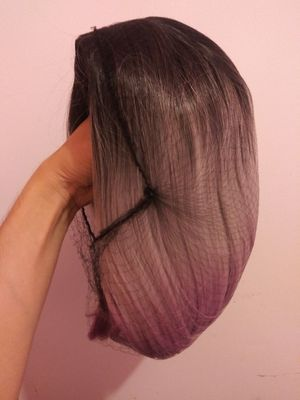 Purple wig hair. for Sale in Los Angeles, CA