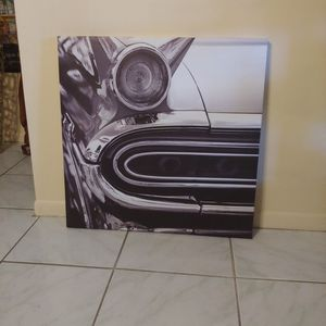 Black and white on canvas for Sale in Hialeah, FL