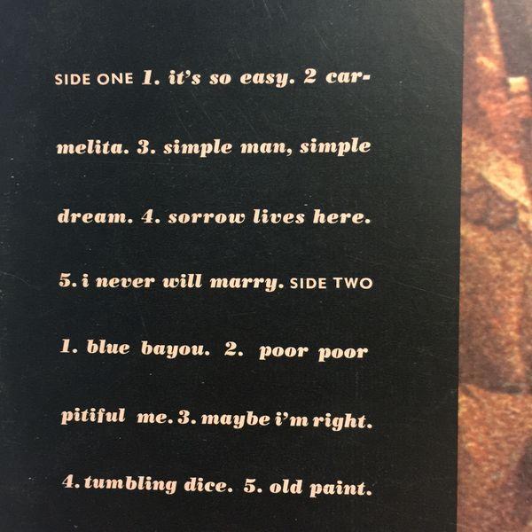 Linda Ronstadt 'Simple Dreams' (LP) Vinyl Record, 1977