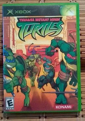 Teenage Mutant Ninja Turtles For Xbox for Sale in Calvert City, KY