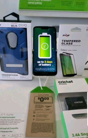 Free Moto G7 Supra when you switch to cricket wireless for Sale in Harrisonburg, VA
