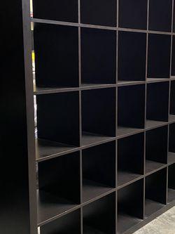 Black Kallax IKEA 6 x 6 Shelf Unit for Sale in Snohomish,  WA