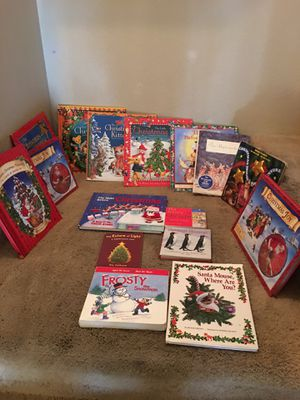 Children's Christmas books on a good condition for Sale in Henderson, NV