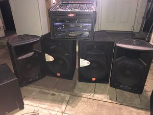 SF15 JBL & CONSOLE AUDIO SPEAKERS SYSTEM for Sale in Wheaton, MD