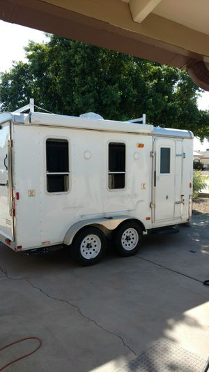 Toy hauler RV camper trailer Built in 2010. for Sale in Phoenix, AZ