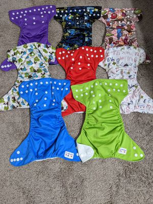 30 cloth diapers for Sale in Sanctuary, TX