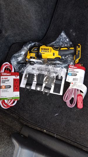 NEW Dewalt 20v MAX brushless xr oscillating multi tool for Sale in Ashburn, VA