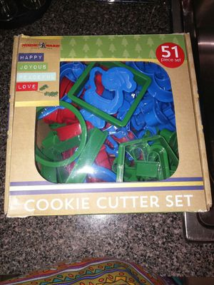 Cookie cutter set for Sale in Jacksonville, FL