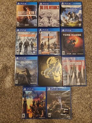 Ps4 games for Sale in East Windsor, CT
