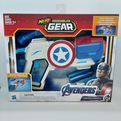 Marvel's Avengers Nerf Assembler Gear ~ Captain America ~ Blaster Dart Gun ~ NIP for Sale in Stockton,  CA