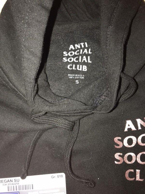 bf12b233be6 Anti Social Social Club Stressed Hoodie for Sale in San Francisco ...
