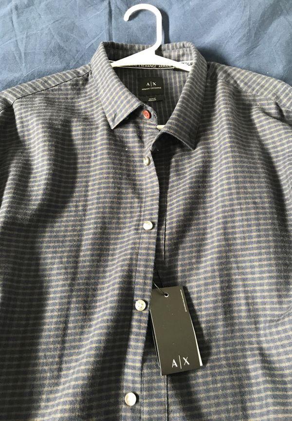 Armani Exchange dress shirt XXL with tags
