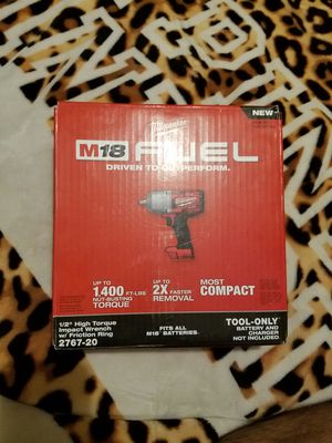 M18 fuel impact wrench torque for Sale in Bakersfield, CA