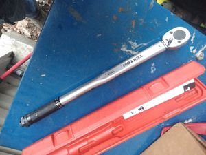 Torque wrench 10 - 150 ft lbs for Sale in Gaithersburg, MD