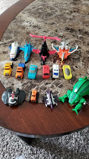 Vintage 1980's mini Transformers/Go bots action figures for Sale in Pataskala, OH