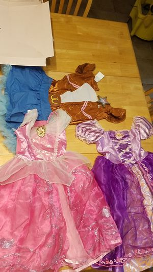 Girls disney costumes for Sale in Houston, TX